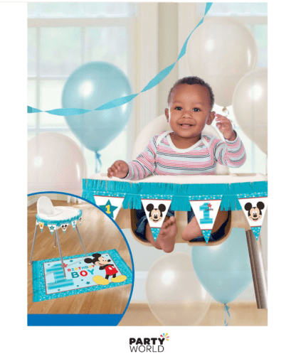 mickey mouse high chair kit