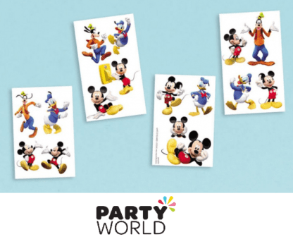 mickey mouse temporary tattoos