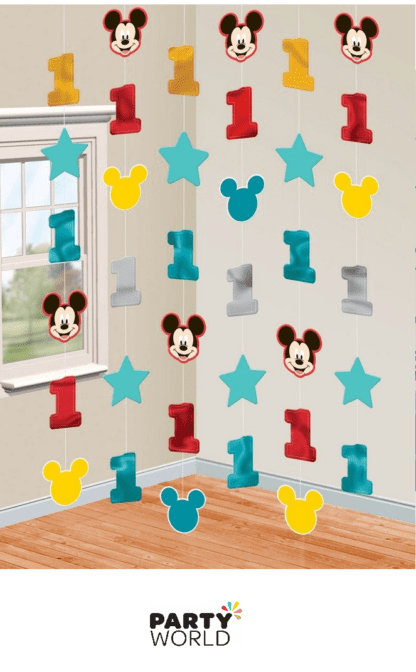 mickey string decorations