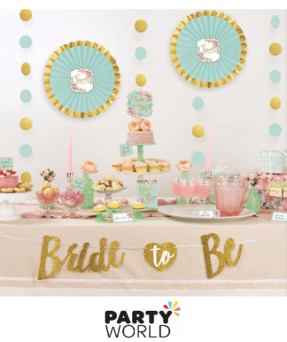 mint to be buffet decorating kit