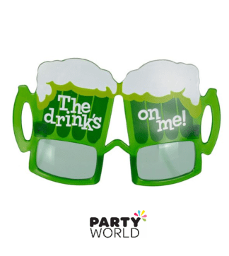 St Patrick's Day Themed Glasses