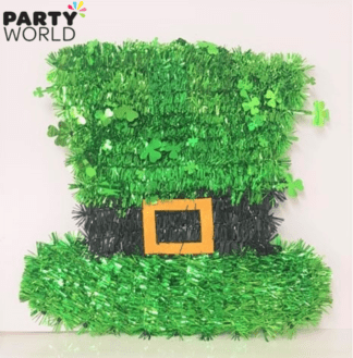 tinsel hat decoration st patricks day