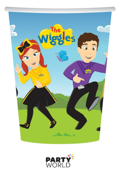 wiggles paper cups