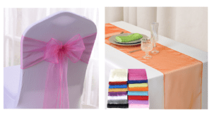 Table Runner & Chair Tie