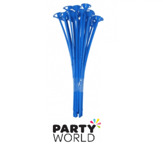 blue balloon sticks
