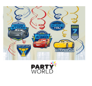 disney cars swirls