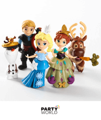 frozen cartoon figurines
