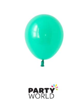 teal mini balloons