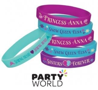 Disney Frozen Rubber Bracelets (4)