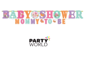 baby shower girl banner