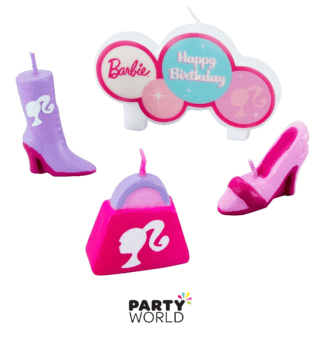 barbie candle set