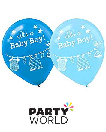 its a boy latex balloons