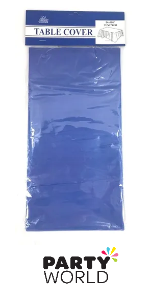 royal blue tablecover