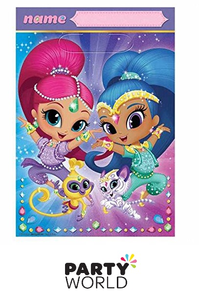 shimmer and shine loot bags