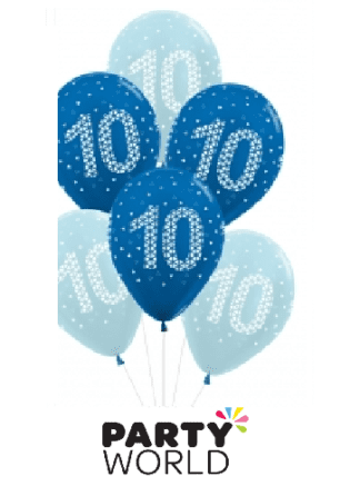 10th birthday balloons