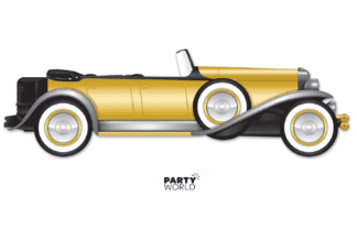 20's roadster car cutout