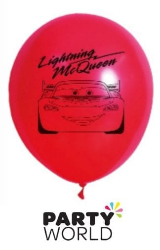 Disney Cars Party Latex Balloons (10)
