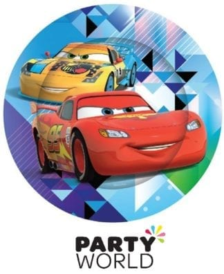 Disney Cars Party Paper Plates (8)