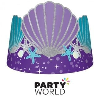 Mermaid Wishes Glitter Paper Crown