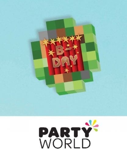 Minecraft TNT Party Notepads (8)