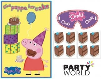 Peppa Pig Party Game - Give Peppa Her Cake