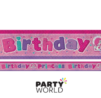 birthday princess banner