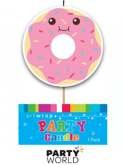 donut shaped candle