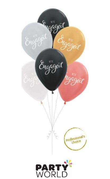 engaged balloons