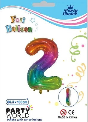 jelly rainbow number balloon 2