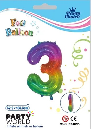 jelly rainbow number balloon 3