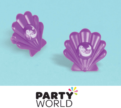 mermaid party favours - rings