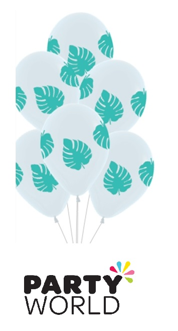 palm leaves balloons