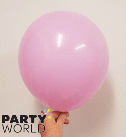 pink purple latex balloons