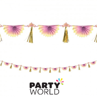 princess bunting garland