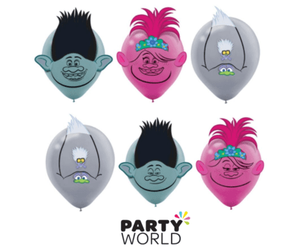 trolls party balloons