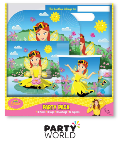 wiggles emma party pack