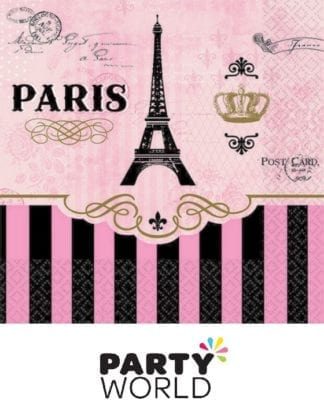 Day In Paris Beverage Napkins (16)