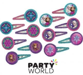 Disney Frozen Party Hair Clips (12)