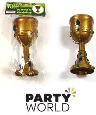 Gold Jewel Encrusted Kings Goblet