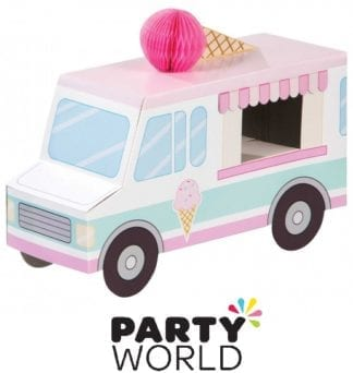 Ice Cream Party Table Decoration Centrepiece 3D