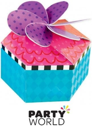 Mad Hatters Tea Party Treat Boxes (12)Mad Hatters Tea Party Treat Boxes (12)Mad Hatters Tea Party Treat Boxes (12)