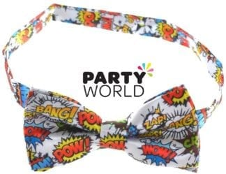 Pop Art Party Bow Tie