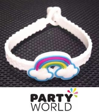 Rainbow Party Girls Rubber Bracelets (8)