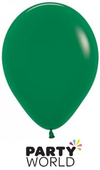 Sempertex 5inch Forest Green Mini Balloons (50)