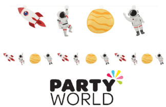Space Party Garland Hanging Decorations (12)