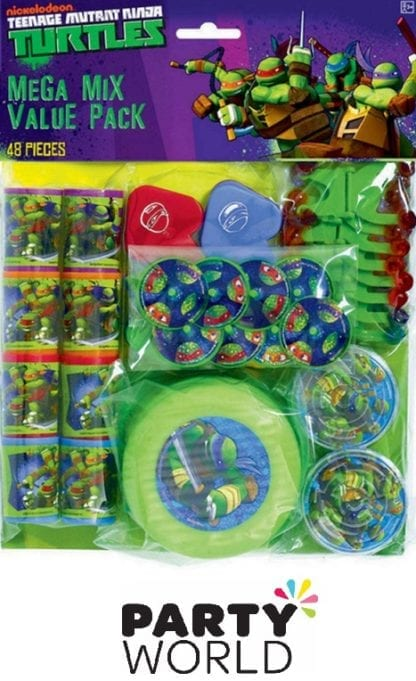 Teenage Mutant Ninja Turtles Mega Mix Value Pack Favours (48 pcs)