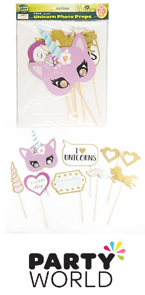 Unicorn Party Photo Props (8)