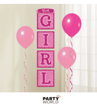 its a girl hanging decoration