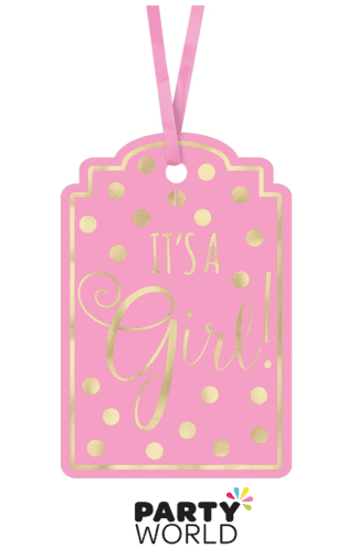 its a girl tags