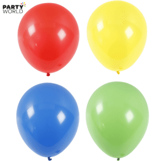large balloons primary colours